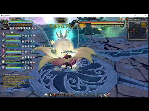 [ DN INA ] 1st Clear Forest Dragon Nest Sentinel Void  - Dragon Stage - Cryomancer PoV