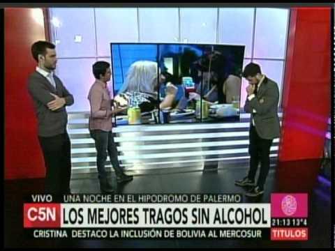 C5N – GASTRONOMIA: VEDA Y TRAGOS SIN ALCOHOL EN EL HIPODROMO DE PALERMO (PARTE 2)