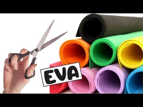 5 lembrancinhas de Eva