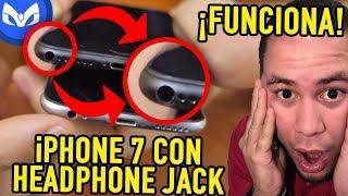 Ponen Headphone Jack Al Iphone 7 y Funciona Increible