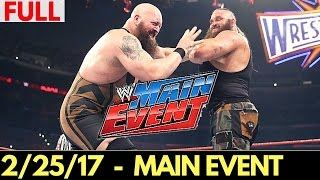 Nonton WWE Main Event 24 February 2017 Full Show - WWE Main Event 2/24/2017 Full Show Film Subtitle Indonesia Streaming Movie Download