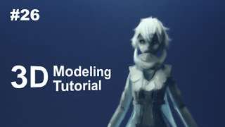 [Part 26/ 40] Anime Character 3D Modeling Tutorial II - Simple Texturing