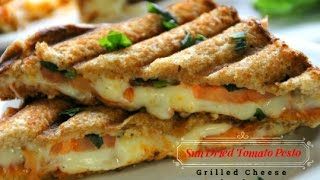 Tomato Pesto Grilled Cheese - The Ultimate Sandwich