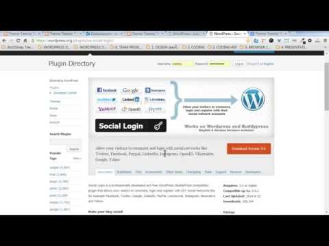 Plugin WordPress : สมัครสมาชิกใหม่  Login With Ajax