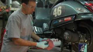7. Vespa Oil Change GT/GTS, ET, LX PART 1 of 2