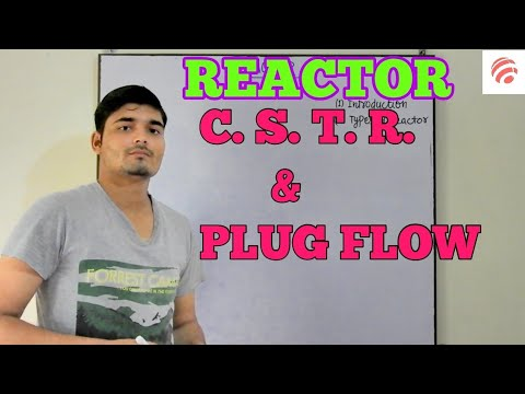 [Hindi] Reactor, Types of reactor, CSTR Reactor, Plug flow reactor || Chemical Pedia