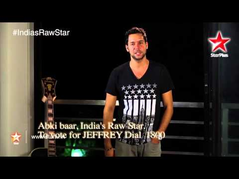 India s Raw Star: Vote for Raw Star Jeffrey! 17 September 2014 02 PM