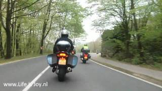 4. Theo on BMW K1200GT motorcycle in Sauerland Germany