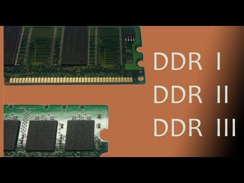 The Difference Between DDR 1/2/3 RAM cards