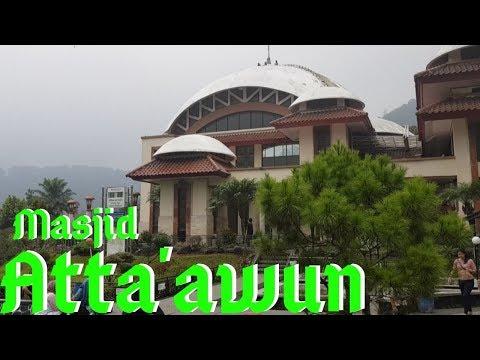 Akses Jalan Menuju Masjid Atta'awun | Puncak Bogor