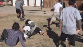 TWO HARDCORE GANG FIGHTS