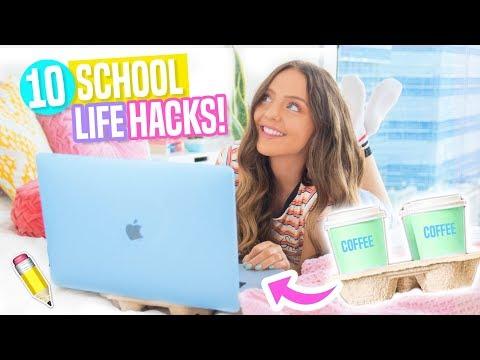 10 Back To School LIFE HACKS Everyone Should Know!! DIY Life Hacks 2017