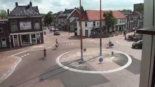 Kruispunt Oosterpoortsbrug Sneek bijna klaar
