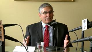 Len Fasano editorial board interview at The Day