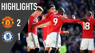 Download Video Manchester United 2-1 Chelsea | Premier League Highlights (17/18) | Manchester United MP3 3GP MP4