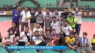 Conheça os grandes campeões da Copa Record de Futsal Masculino 2018