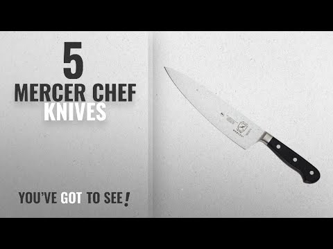 Top 10 Mercer Chef Knives [2018]: Mercer Culinary Renaissance 8-Inch Forged Chef's Knife
