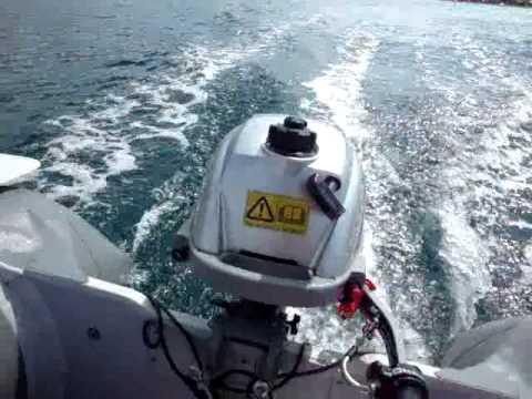 лодочный мотор honda 2.3 скорость