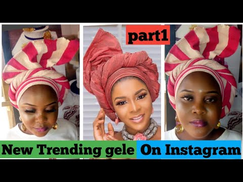 BEGINNERS/SIMPLEST TRENDING GELE TUTORIAL (PART 1)