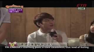 Video [ENG SUB] CNBLUE and Kang Sora Interview (140516) MP3, 3GP, MP4, WEBM, AVI, FLV Maret 2018