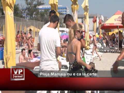 Plaja Mamaia nu e ca la carte