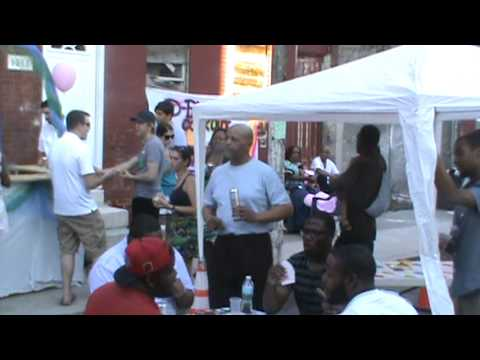 ACCALkid - everybody had a great time at this block party down south philly S/o to the whole 1-7 Every Year D block kows how toget a Block Party popin S/O to the Burbag...