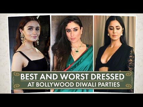 Kareena Kapoor Khan, Alia Bhatt, Shilpa Shetty: Best and worst dressed at Bollywood Diwali Parties