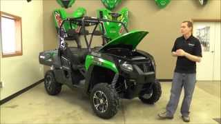 1. 2016 Arctic Cat Prowler 700 HDX XT Team Arctic Green & Black