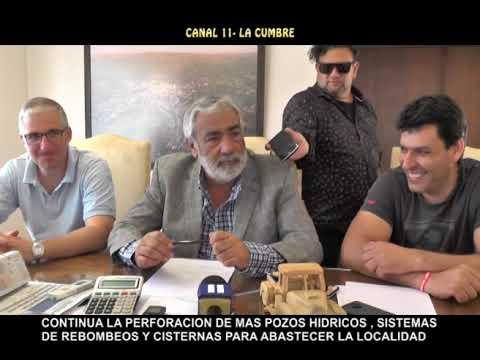 CRISIS HIDRICA EN LA ZONA: HISTORICO: EL DIQUE DE LA CUMBRE A PUNTO DE SECARSE