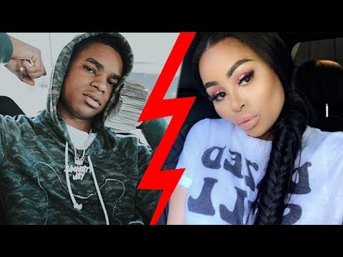 Blac Chyna BREAKS UP With 18 Year Old Rapper YBN Almighty Jay!