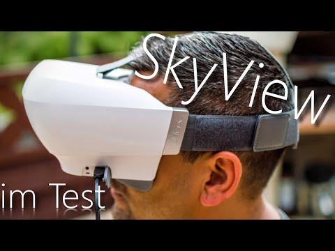 Yuneec SkyView FPV- Brille im Test - Deutsch