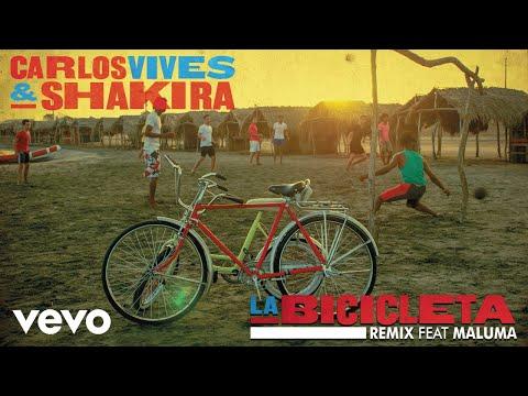 Letra La Bicicleta (Remix) Carlos Vives, Shakira Ft Maluma