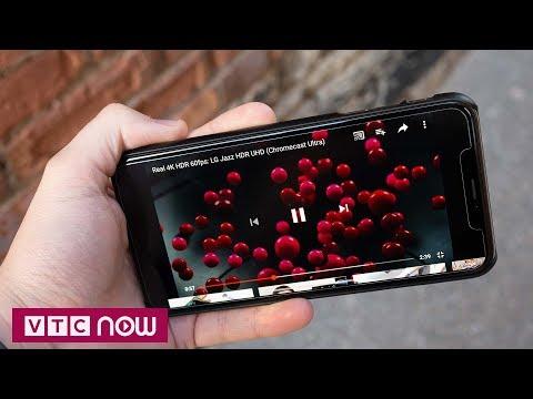 iPhone Xs và Xs Max có thể phát video HDR trên Youtube | VTC1 - Thời lượng: 45 giây.