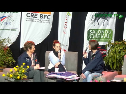 Salon du Cheval Bourgogne-Franche-Comté 2018 Marjorie BLANCHET