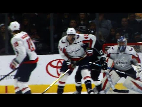 Video: Visor saves Tom Wilson by stopping deflection to face