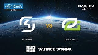 SK Gaming vs OpTic Gaming - IEM Sydney - map1 - de_train [ceh9, flife]