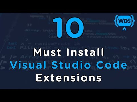 10 Must Install Visual Studio Code Extensions