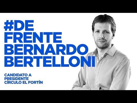 #DeFrente Bernardo Bertelloni