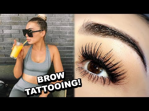 Getting A Tattoo On My FACE!! | VLOG
