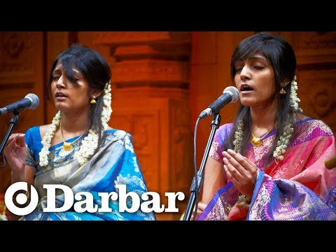 darbar - Visit www.skyarts.co.uk/darbar for broadcast schedule. UK Carnatic Ensemble Sindu and Indu (vocals) with Aravindan (flute), Senthuran (mridangam) and Dharmes...