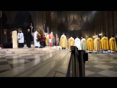 Notre Dame deParis. Messe derite byzantin— 3. Requiem