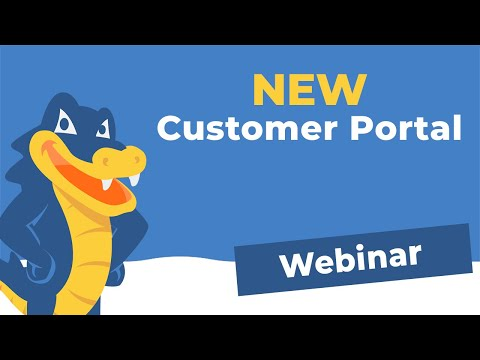 Live Demo: HostGator's New Customer Portal