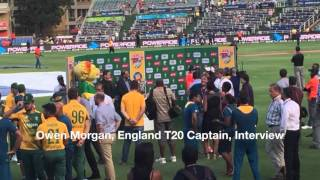 Eoin Morgan Interview after the South Africa T20 series 21 february 2016