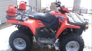 4. 2008  polaris sportsman 500 HO