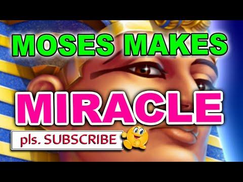 Moses makes Miracle