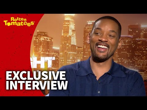 Will Smith Never Saw Joel Edgerton Out of His Orc Makeup (2017) | Rotten Tomatoes (видео)