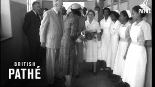 Duke And Duchess Of Gloucester Visit Ethiopia (1958)