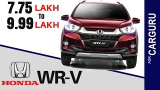 HONDA WR-V is all set to launch in India on 16th March 2017, Please watch full video for more info like price, exterior, interior & all details. While we are...