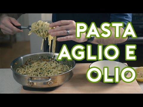 Binging with Babish: Pasta Aglio e Olio from