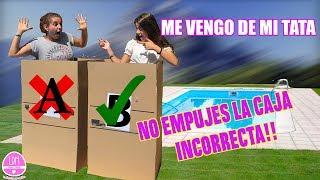 No empujes la CAJA INCORRECTA a la piscina / LA DIVERSION DE MARTINA